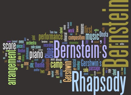 Bernstein's Formative Relationship with Rhapsody in Blue